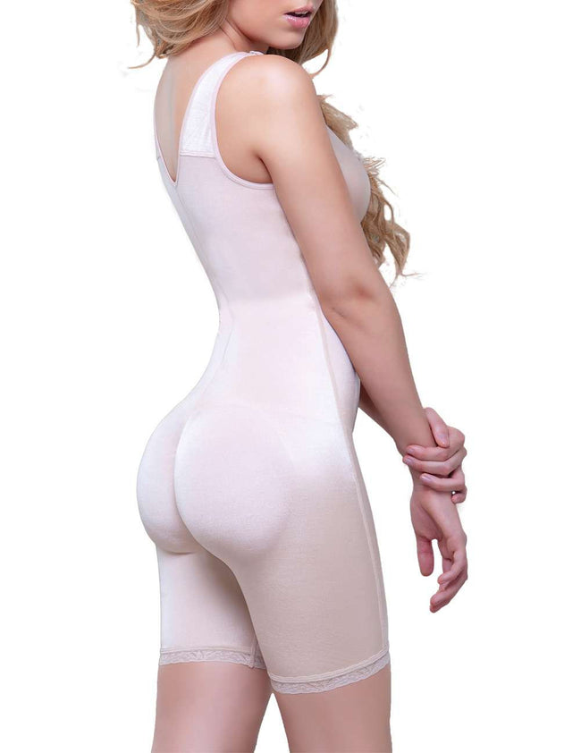 Celeste Front Zipper Compression Garment.