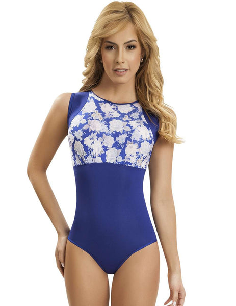 Control bodysuit Color Blue