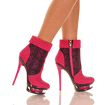 "5 1/2"" Over Ankle Bootie With Side Zip"