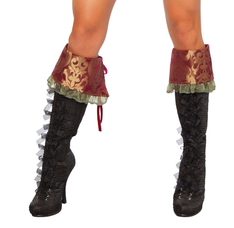 Delux Tea Party Hatter Boot Cover
