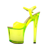 "7 1/2"" Platform With Neon UV Reactive Upper & Platform"