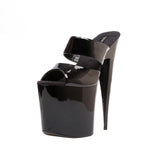 "7 1/2"" Platform With Highest Heel Exclusive ""Inferno"" Heel"