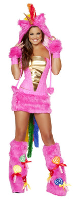 J Valentine JJ161 Hot Pink Unicorn Costume