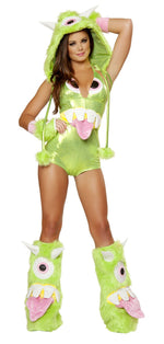 J Valentine JJ174 One-Eyed Monster Romper