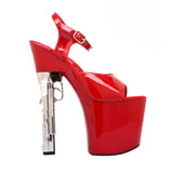 "7 1/2"" Platform With 9mm Gun Shaped Heel"