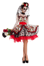 Party King Female La Novia Costume PK843