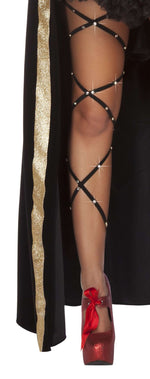 Rhinestone Thigh Wraps