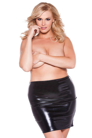 Plus Size Kitten Sexy Siren Skirt - Fashion
