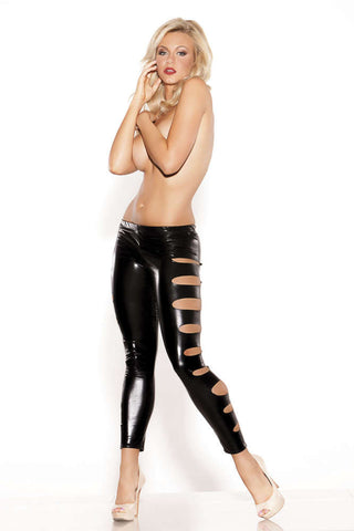 Kitten Femme Fatale Leggings - Fashion