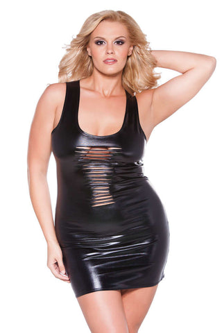 Plus Size Kitten Risque Dress - Fashion