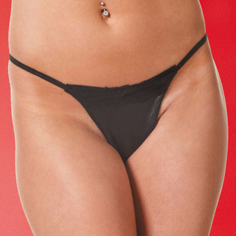 Leather G-String - Fashion