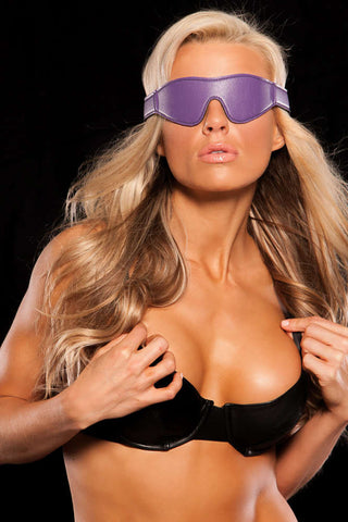 X-Play Purple Blindfold - Fashion