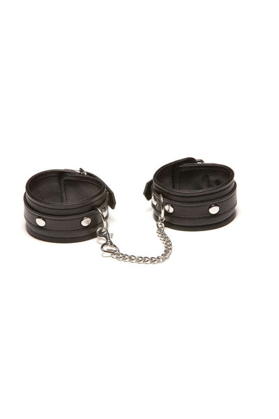 X-Play Ankle Cuffs With Chain - Fashion