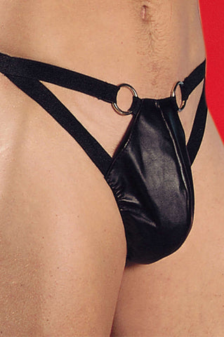 Leather Thong Men - Fashion