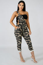 Camouflage Overall OLIVE