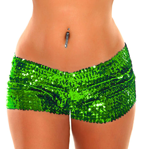Sequin Shorts - Fashion