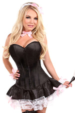 6 PC French Maid Costume - Fashion