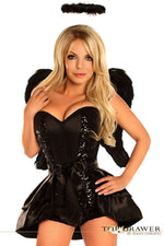 4 PC Dark Angel Costume - Fashion