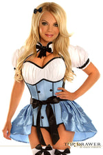 4 PC Alice Costume - Fashion