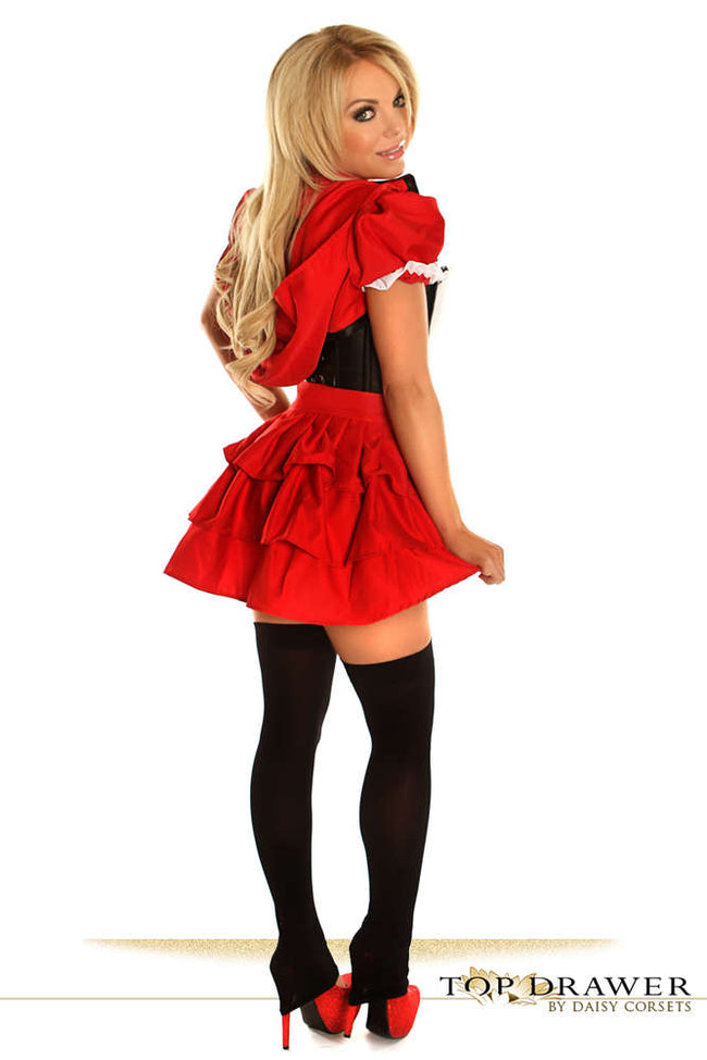 3 PC Red Riding Hood Costume - Females Fashion