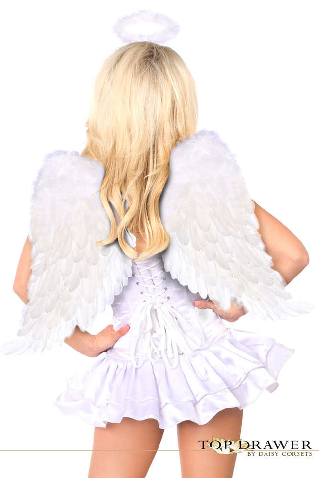 Innocent Angel Corset Dress Costume - Females Fashion