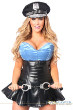 Premium Cop Corset Costume - Fashion