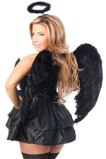 4 PC Fallen Angel Corset Costume - Females Fashion