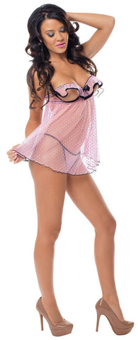Delightful Flutter Cup Baby Doll - Fashion