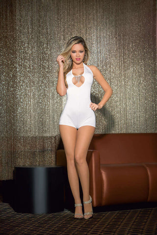 Cascade Jewel Romper - Fashion