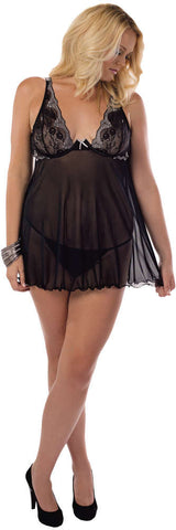 Plus Size Inner Goddess Baby Doll - Fashion