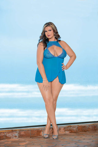 Plus Size  Baby Doll - Fashion