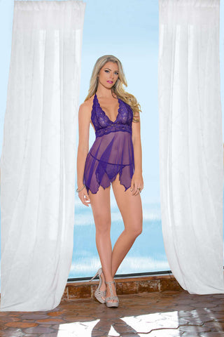 Purple Charm Baby Doll - Fashion