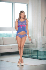 Cami Set W/Ribbon Detail - Fashion