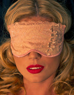 Beige Sleep Mask - Fashion