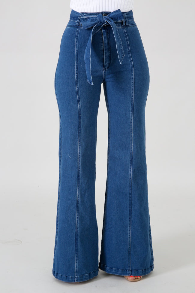 High Waist Denim Jeans DENIM