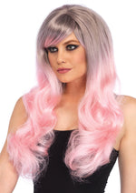 Leg Avenue Blended Two-Tone Pastel Long Wavy Wig A1531