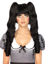 Leg Avenue Dolly Bob Wig With Optional Ringlet Clips A2732