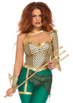 Leg Avenue Female 2PC.Aqua Warrior Costume 86686
