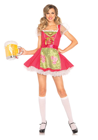 Leg Avenue Female 2PC.Beer Garden Gretel Costume 85219