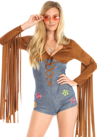 Leg Avenue Female 2PC.Boho Babe Costume 86703