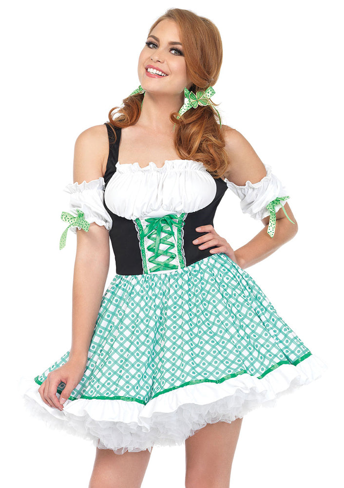 Leg Avenue Female 2PC.Clover O'cutie Costume 86168