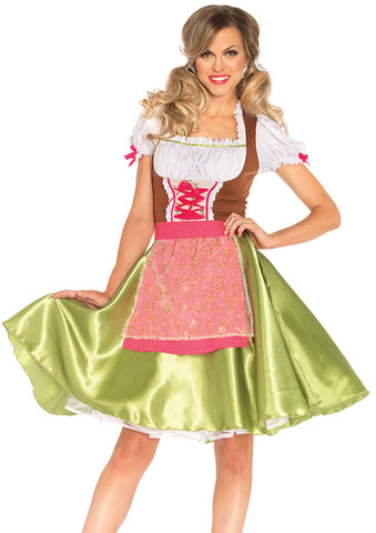 Leg Avenue Female 2PC.Darling Greta Costume 85508