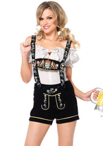 Leg Avenue Female 2PC.Edelweiss Lederhosen Costume 85221