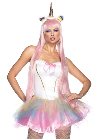 Leg Avenue Female 2PC.Fantasy Unicorn Costume 85010