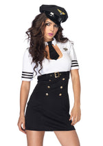 Leg Avenue Female 2PC.First Class Captain Costume 83839