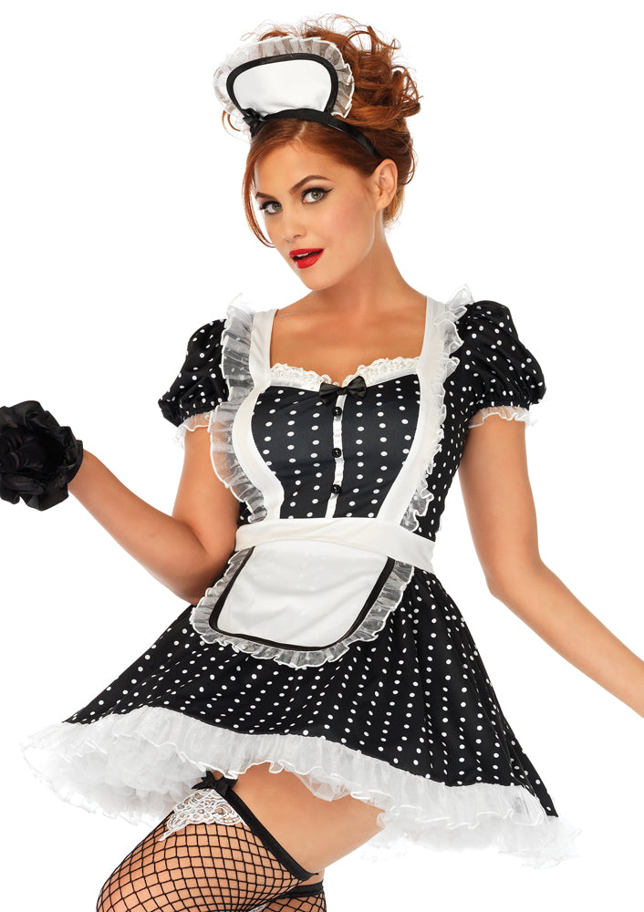 Leg Avenue Female 2PC.Frisky Frenchie Costume 86668