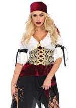 Leg Avenue Female 2PC.High Seas Wench Costume 86673