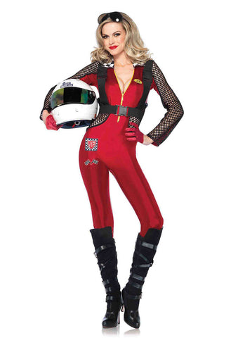 Leg Avenue Female 2PC.Pitstop Penny Costume 85247