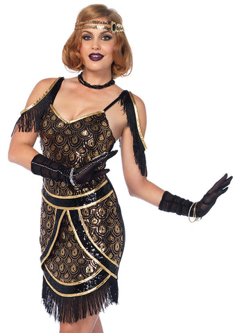 Leg Avenue Female 2PC.Speakeasy Sweetie Costume 85545