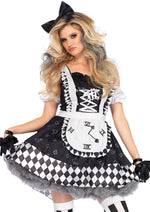 Leg Avenue Female 2PC.Wonderland Alice Costume 86665